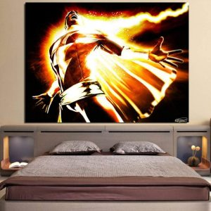 DC Comics Mightiest Mortal Shazam Epic 1pc Wall Art Canvas Print