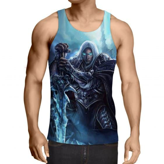 World of Warcraft Frozen Throne Arthas Cool Game Tank Top