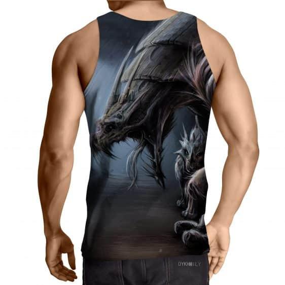 World of Warcraft Dragon Creature Fan Art Design Tank Top