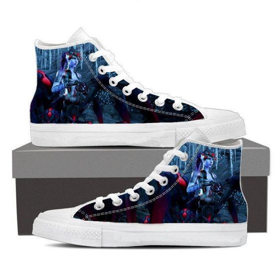 Overwatch Widowmaker Spider Queen Sneakers Converse Shoes
