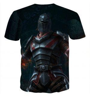 Kingdoms of Amalur Reckoning Medieval Battle Armor T-Shirt - Superheroes Gears