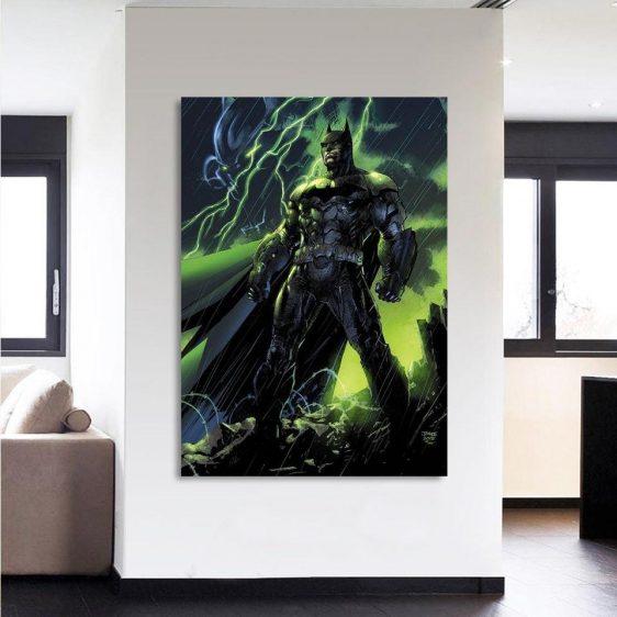 DC Comics Batman The Dark Knight Thunderlight 1 Piece Canvas - Superheroes Gears