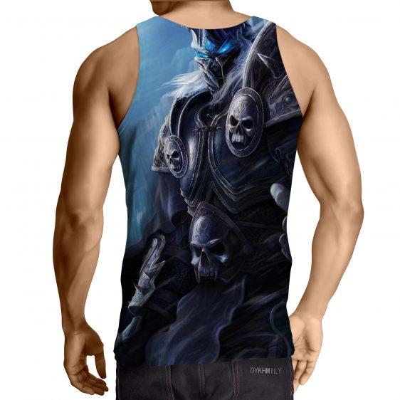 World of Warcraft Arthas Lich King Frozen Throne Tank Top