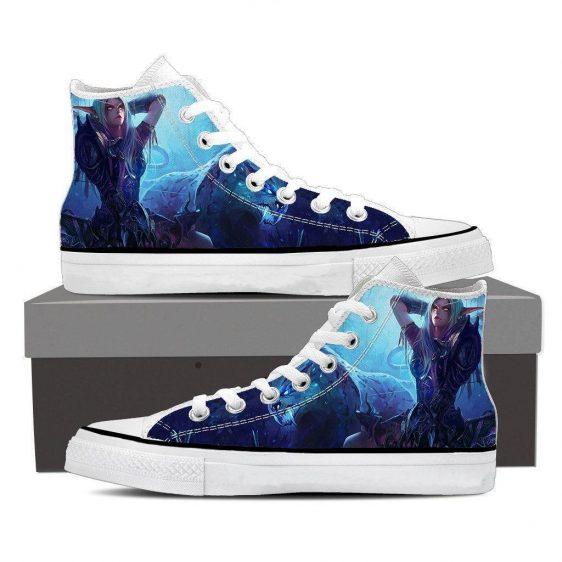 World of Warcraft Sylvanas Forsaken Queen Art Sneaker Converse Shoes
