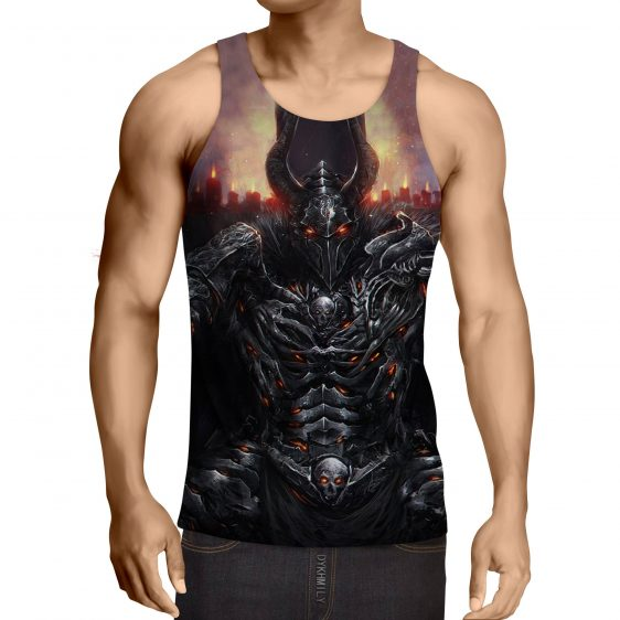 World of Warcraft Death Knight Evil Theme Game Tank Top