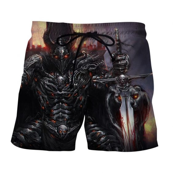 World of Warcraft Death Knight Evil Theme Gaming Shorts