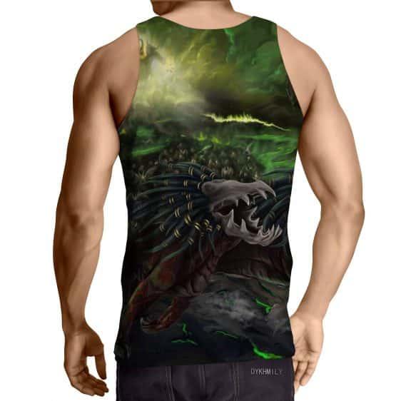World of Warcraft Felhound Monster Creature Artwork Tank Top