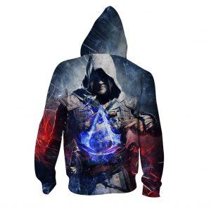 Assassin's Creed Rebellious Jacob Frye Vibrant Print Hoodie