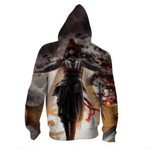 Assassin's Creed Aguilar Powerful Dark Aura Vibrant Hoodie