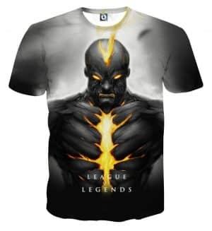 League of Legends Brand Burning Vengeance Cool Design T-shirt - Superheroes Gears