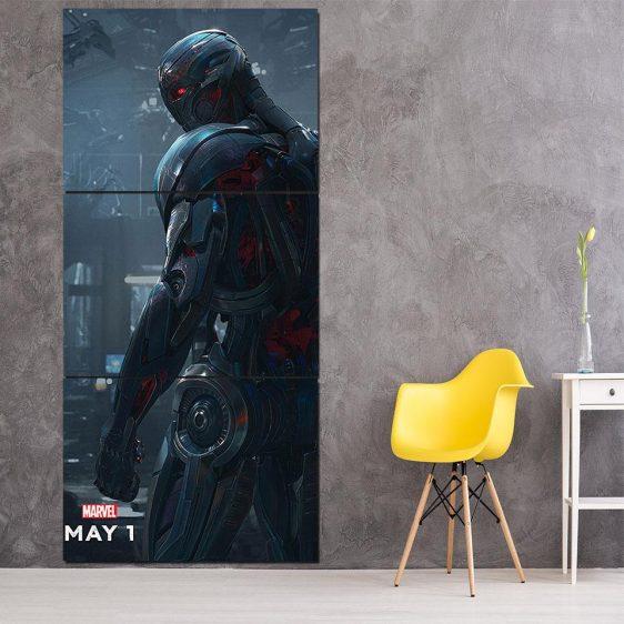 Marvel The Avengers Lonely Ultron Stylish 3pcs Canvas Print