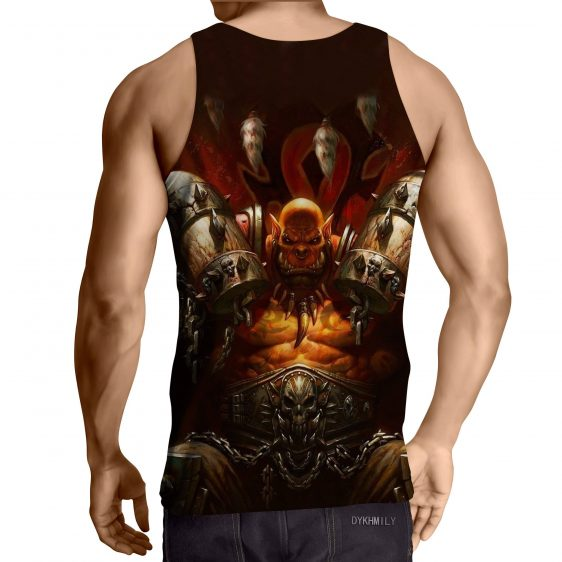 World of Warcraft Garrosh Orc Warlord Cool Game Tank Top