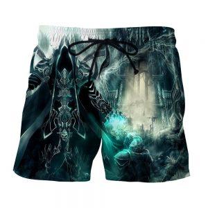 Diablo 3 Reaper of Soul Mathael Death Angel Game Shorts - Superheroes Gears