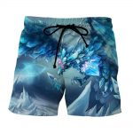 League of Legends Anivia Powerful Cryophoenix Cool Design Summer Shorts - Superheroes Gears