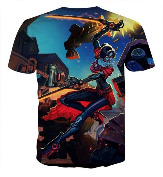 Overwatch Day of The Dead Hero Fan Art Theme Concept T-Shirt