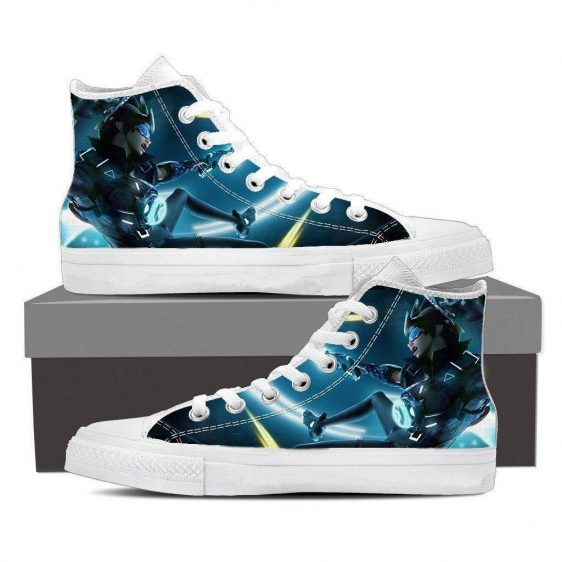 Overwatch Tracer Cadet Oxton Skin Sneakers Converse Shoes