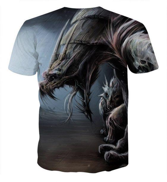 World of Warcraft Dragon Creature Fan Art Design T-Shirt