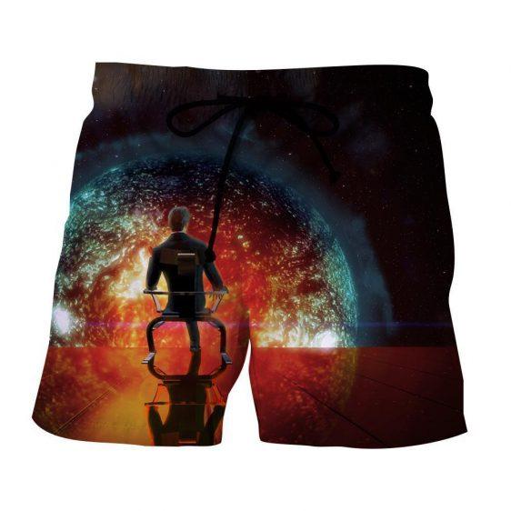 Mass Effect Illusive Man Cerberus Leader Style Shorts