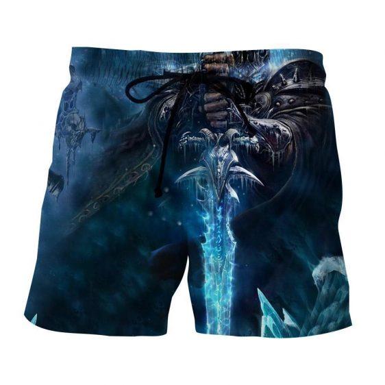 World of Warcraft Frozen Throne Arthas Cool Game Shorts