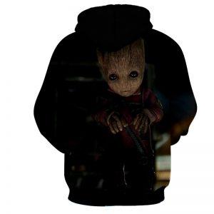 Guardians of the Galaxy Cute Baby Groot 3D Print Design Hoodie - Superheroes Gears