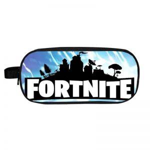Fortnite Dark City Silhouette Lightning Strike Pencil Case