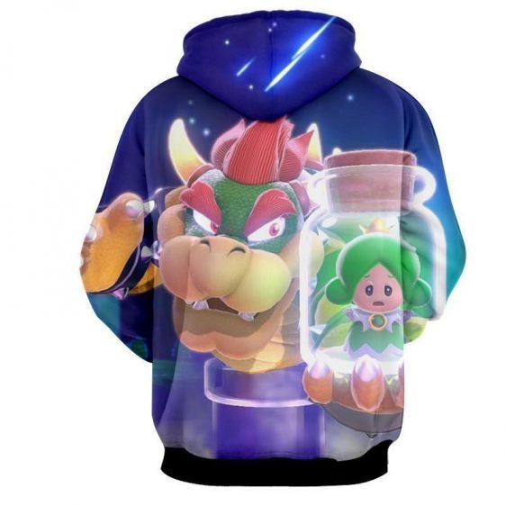 Super Mario King Koopa Bowser Evil Villain Style Hoodie