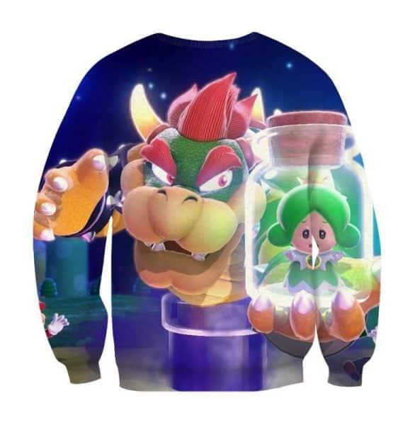 Super Mario King Koopa Bowser Evil Villain Style Sweatshirt