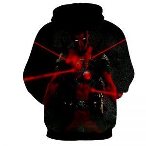 Antihero Deadpool Kills On Sight Dope Design Full Print Hoodie - Superheroes Gears