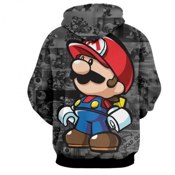 Super Mario Collab Lego Figure Cool Streetwear Hoodie