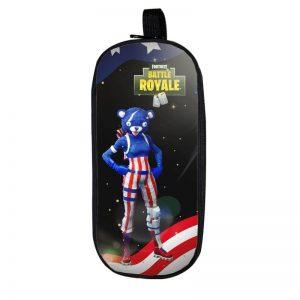 Fortnite Battle Royale Fireworks Team Leader Black Pencil Case