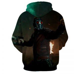 Guardians of the Galaxy Star-Lord Fighting Scene Dope Hoodie - Superheroes Gears
