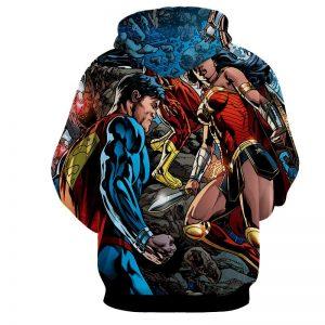Justice League Comic Superman Dope Stand 3D Printed Hoodie - Superheroes Gears
