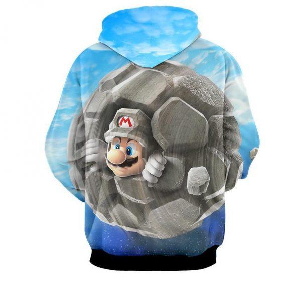 Super Mario Rock Mushroom Upgrade Cool Gaming Vintage Hoodies