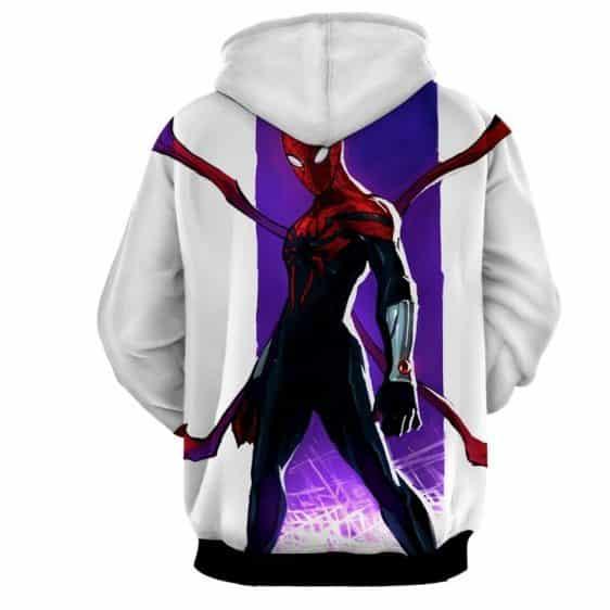 Superior Spiderman Dope White 3D Print Hoodie