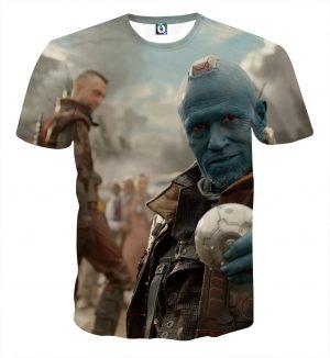 Guardians of the Galaxy Yondu Expert Archer Portrait Dope T-shirt - Superheroes Gears