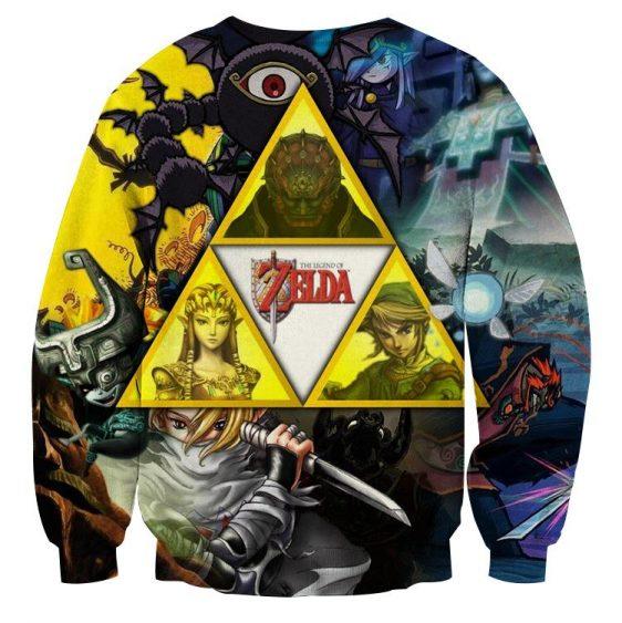 The Legend Of Zelda Link Princess Zelda And Ganon Sweater