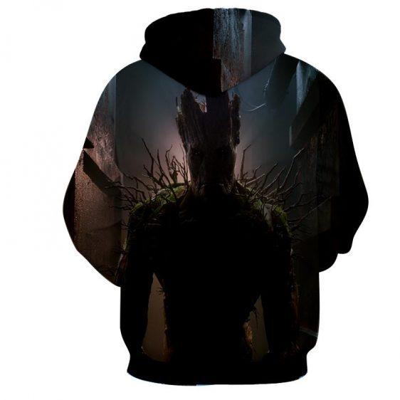 Guardians of the Galaxy Powerful Groot Stunning Design 3D Hoodie - Superheroes Gears
