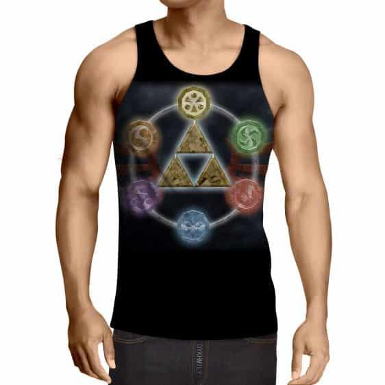 The Legend Of Zelda Phoenix Symbol of Time Dope Tank Top