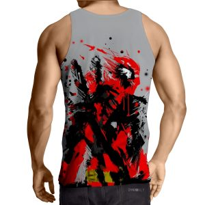 Deadpool Abstract Painting Design Stylish Winter Tank Top - Superheroes Gears