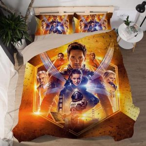 Ant-Man And The Wasp Movie Characters Poster Bedding Set