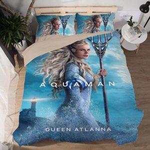 Aquaman Atlanna Queen of Atlantis Awesome Bedding Set