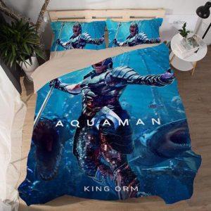 Aquaman Supervillain King Orm Ocean Master Bedding Set
