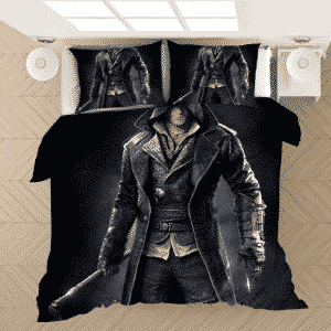 Assassin's Creed Jacob Frye Close-Up Black Bedding Set