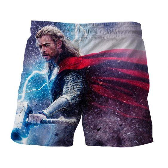 Avenger Thor Norse God of Thunder and Lightning Boardshorts