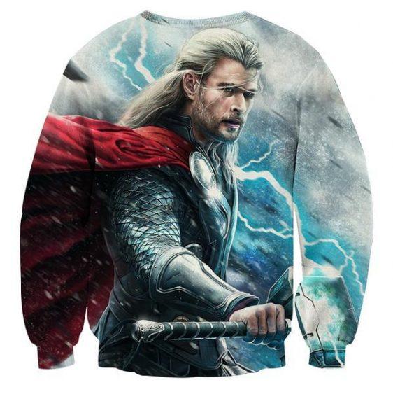 Avenger Thor Norse God of Thunder and Lightning Sweatshirt