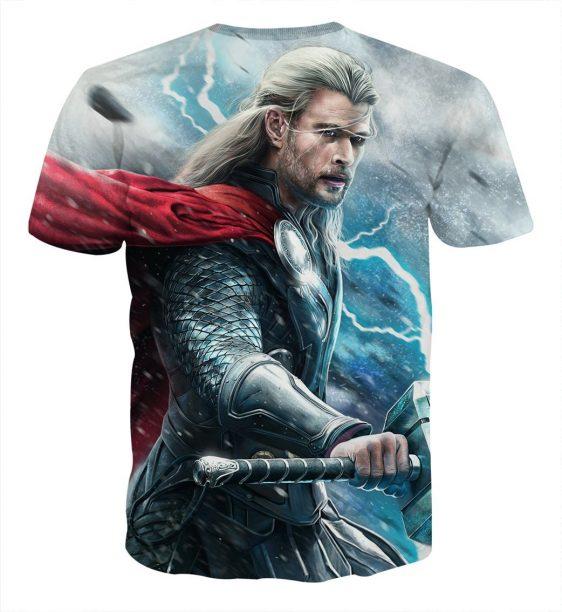 Avenger Thor Norse God of Thunder and Lightning T-shirt