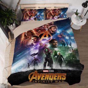 Avengers Infinity War Movie Poster Design Bedding Set
