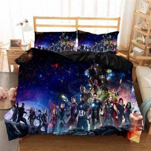 Avengers Infinity War Thanos Intergalactic Invasion Bedding Set