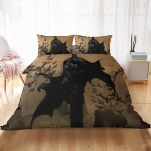 Batman Dark Knight Gotham's The Caped Crusader Bedding Set