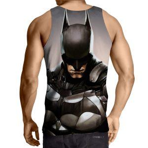 Batman Realistic Half Body Portrait Full Print Tank Top - Superheroes Gears